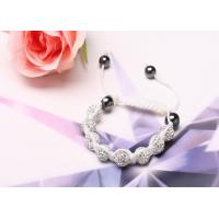 Buy cheap Shamballa Bead Bracelet Clear Clear Shamballa Bracelet NP10095 from wholesalers