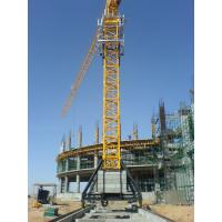 Buy cheap Self Climbing Tower Crane Construction , 1.3T Tip Load 70m Self Erecting Tower Crane from wholesalers