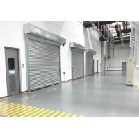 Buy cheap AC 380V Intelligence Aluminum Security Door , Outside Security Door from wholesalers