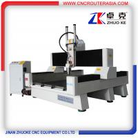 Buy cheap Heavy duty 4 axis Stone Carving CNC Router with air cylinder ZK-1212 1200*1200mm from wholesalers