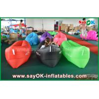 Buy cheap Outdoor Beach Fast Filling Banana Sleeping Air Bag 200cm *90cm from wholesalers