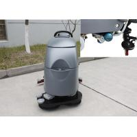 Buy cheap Two Brushes Commercial Floor Cleaning Machines With Solution Level Checking Hose from wholesalers