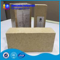 Buy cheap Insulating Silica Fire Brick For Glass Kiln , Acid Resistance Refractory Fire Bricks product