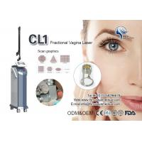 Buy cheap Air Cooling Fractional Co2 Laser Machine / CO2 Scar Removal , Wrinkle Removing Machine from wholesalers