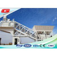 Buy cheap 380V / 50HZ Mobile Ready Mixed Concrete Mixing Plant With Simple Compact Structure from wholesalers