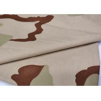 Buy cheap High Stretch Camouflage Fabric Twill Weaving Army Print Fabric 32X32 Yarn Count from wholesalers