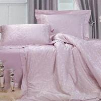 Buy cheap Colored Jacquard Bedding Set, 4pcs Set with Duvet Cover, Flat Cover and Pillowcase, Made of Cotton from wholesalers