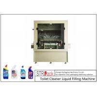 12 Heads Automatic Liquid Filling Machine Anti Corrosive For Gel Water 0.5-1L 3600BPH