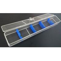 Buy cheap No Welded Joint Endoscope Sterilization Tray , Surgical Instrument Trays Stainless Steel from wholesalers