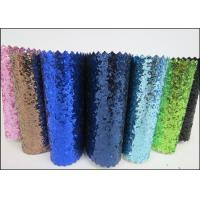 """54"""" Width Glitter Colorful Metallic Glitter Fabric For Wall Paters And Crafts"""