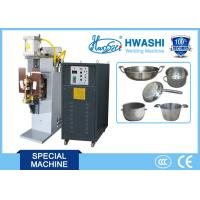 Buy cheap Stainless Steel Cook Pot Welding Machine , Handle Bracket Spot Welding Machine from wholesalers
