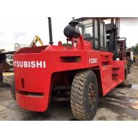 Buy cheap Japan Engine Mitsubishi 30ton FD300 Used Diesel Forklift product