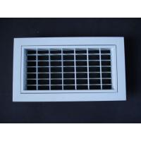 Buy cheap Double Deflection Grille Separately Removable Inner Frame from wholesalers