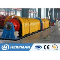 Buy cheap 11~45KW Motor Power Tubular Stranding Machine With Electrical Control System product