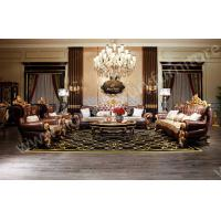 Buy cheap Genunie Leather sofa luxury living room furnitue sofa sets coffee table hot sale 2014 from wholesalers