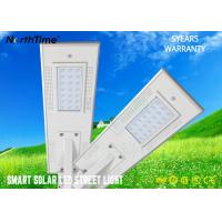 Buy cheap 7000K 2700lm PIR Sensor Solar Powered LED Street Lights With 5 Years Warranty from wholesalers