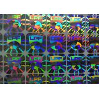 Buy cheap Holographic Security Custom Business Stickers Water Proof Gloss Laminated from wholesalers