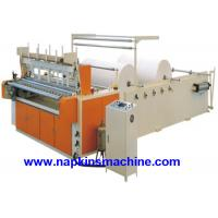 Buy cheap Coloured Toilet Paper Making Machine , Toilet Paper Converting Machine from wholesalers