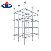 Buy cheap Safety Metal Ringlock Scaffold System Build Jack Scaffolding Self - Locking product
