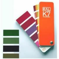Buy cheap German Ral k7 color cards for fabric from wholesalers