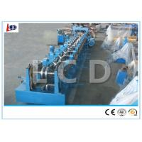 Buy cheap 3mm Thickness Metal Z Purlin Forming Machine , Purlin Roll Former For Building from wholesalers
