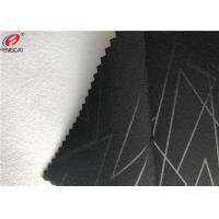 Buy cheap Embossed 4 Way Stretch Fabric Composite With Polyester Brushed Fabric Garment Use from wholesalers