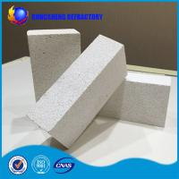 Buy cheap Low Density Fire Insulation Bricks , Size Customized Lightweight Fire Brick For Furnace from wholesalers