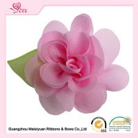 Buy cheap Custom fabric handmade flowers diy 6cm Size different color various type from wholesalers