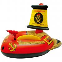 Buy cheap Great Buoyancy Kids Inflatable Boat , Splendid Printing Inflatable Swimming Boat from wholesalers