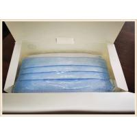 China 3 Ply Dental Disposable Medical Mask Non Woven Custom Dimension For Food Processing on sale