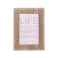 Buy cheap New rustic ecoration photo family picture frame wooden craft desktop photo frame from wholesalers