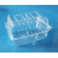 Buy cheap Disposable plastic fruit container cake packaging box bake packaging box food grade PET food packaging contaier FDA EU product