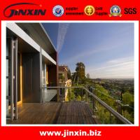 Buy cheap JINXIN stainless steel balcony rail design new glass railing product
