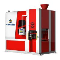 Buy cheap Automatic flaskless vertical shooting and squeezing green sand casting molding machine for making auto parts from wholesalers