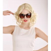 Buy cheap Factory Outlets Hot Sale Sexy Short Curly Blonde High Quality Synthetic Hair Wig from wholesalers
