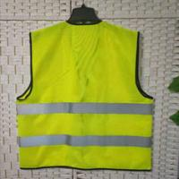 Buy cheap 100% Polyester Uniform Work Clothes , Plus Size High Visibility Work Vest product