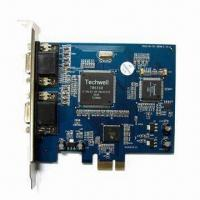 Buy cheap 8-channel PCI-E DVR Card Support 8-chanel D1 Real Time Recording from wholesalers