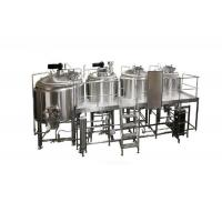 Buy cheap Industrial Brewing Equipment 2000L Barley Beer Making Machine 316 Stainless Steel from wholesalers