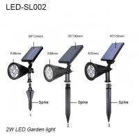 China 3W IP65 exterior LED solar lawn light & led garden light/led lights for park on sale