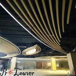 Manufacture architectural BOX Louver used for aluminium decoration,aluminium louver