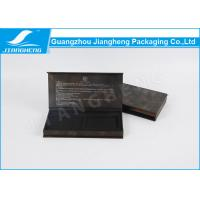 Buy cheap Fashion Elegant Pen Packaging Box Black Paper Customized With Outer from wholesalers