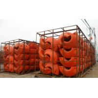 Buy cheap floating pipe floater with PU foam filled for dredging boat from wholesalers