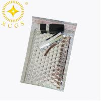 Buy cheap Small Silver Waterproof Custom Mailing Bag Padded Envelopes Bubble Mailer Package Bag from wholesalers