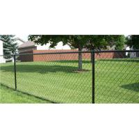 Buy cheap Green PVC coated Galvanized Chain Link Fence from wholesalers