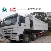 Buy cheap 420 HOWO Dump Truck 12 Wheeler With Euro 4 Engine For Construction Philippines from wholesalers