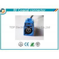 Buy cheap Low Loss FAKRA Female Male RF Coaxial Connector RG174 Double Locked product