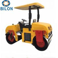 Buy cheap Double Drum Vibratory Road Roller 3 Ton Mount Type Road Roller from wholesalers