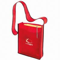 Buy cheap Promotional PP Nonwoven/Woven Carrier/Messenger Bag with or without Lamination  product