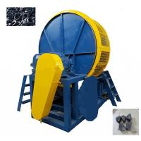 Buy cheap Vertical Tire Shredder Tyre Recycling Equipment Rubber Mulch High Power from wholesalers