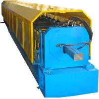 Buy cheap Color Steel Sheet Circular Downspout Roll Forming Machine PLC Control product